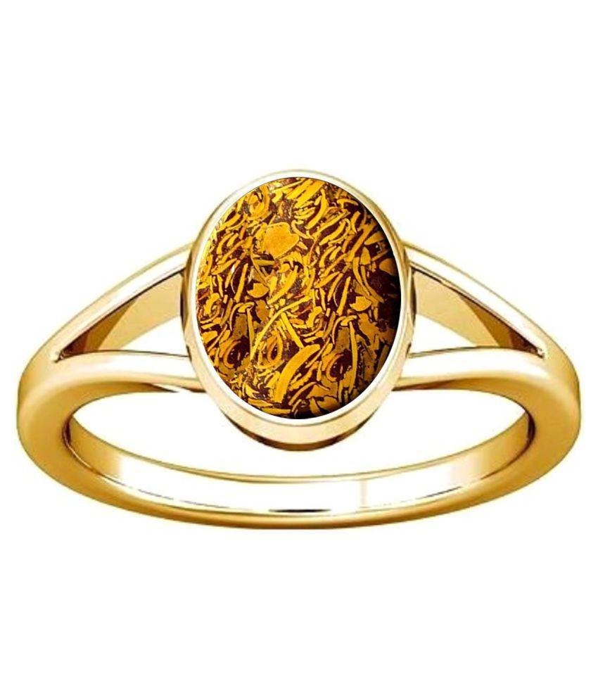 Divya Shakti 7.25 - 7.50 Jasper Mariyam Gemstone Panchadhatu Ring Natural AAA Quality