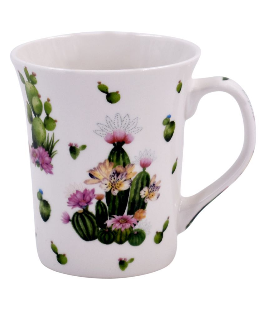Gift Love Ceramic Printed Coffee Cup 1 Pcs 325 ml