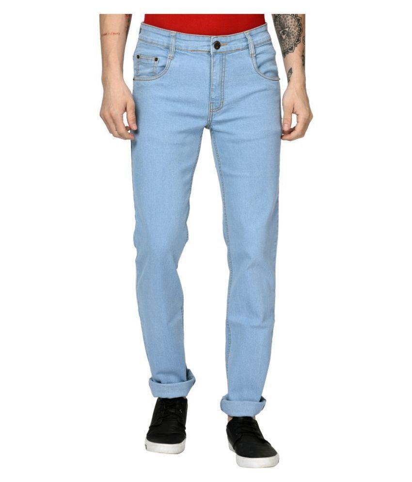 Studio Nexx Light Blue Regular Fit Jeans