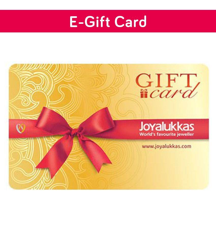 Joyalukkas Gold Diamond E-Gift Cards