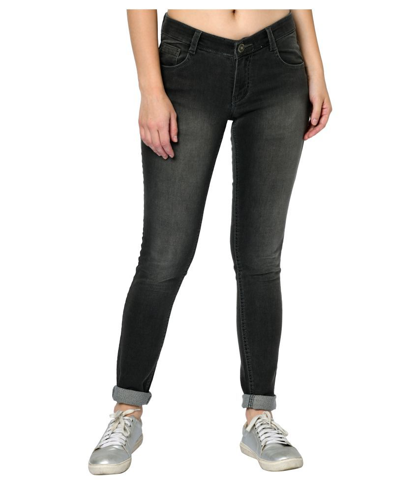 Studio Nexx Cotton Lycra Jeans - Grey