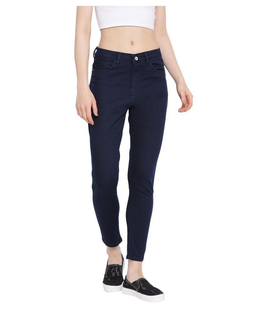 Monte Carlo Poly Cotton Jeans - Blue