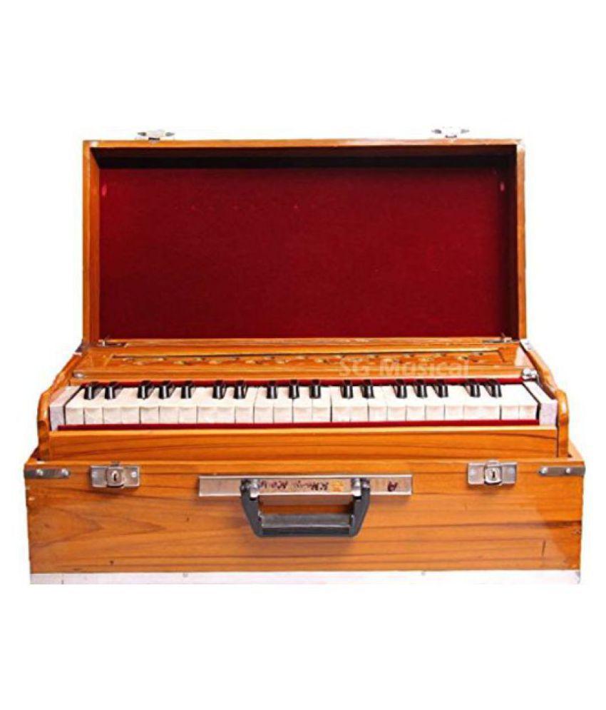 SG Musical Deluxe Portable Harmonium: Buy SG Musical ...