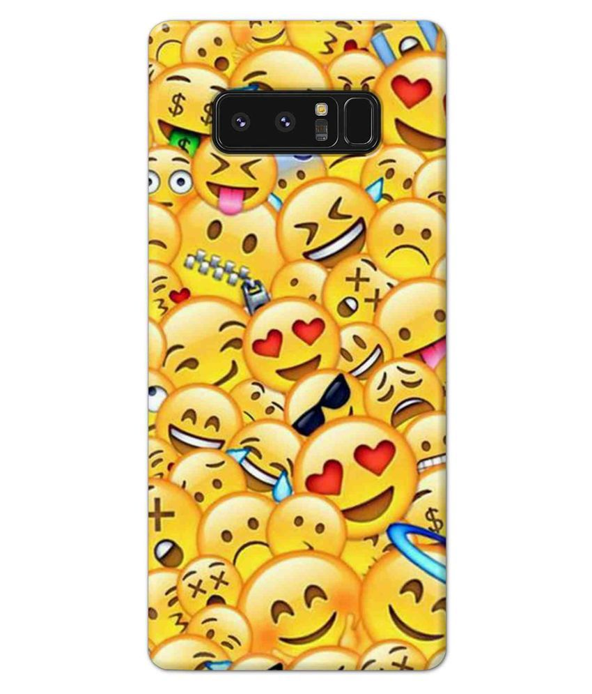 Samsung Galaxy Note 8 Printed Cover By Alve