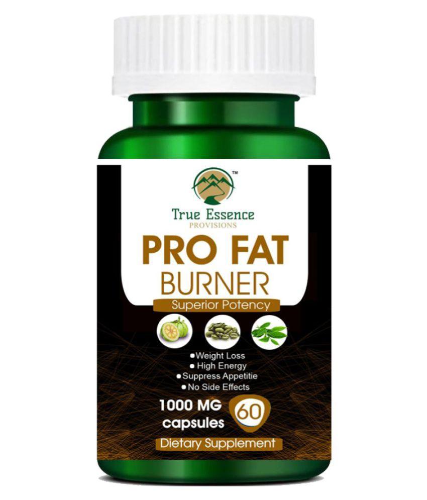 TRUE ESSENCE PROVISIONS PRO FAT BURNER 60 Capsule Capsule 70 gm Pack Of 1