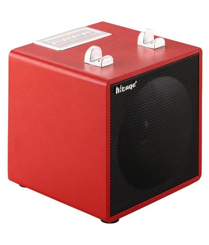 hitage (BS-314 Red) Bluetooth Speaker