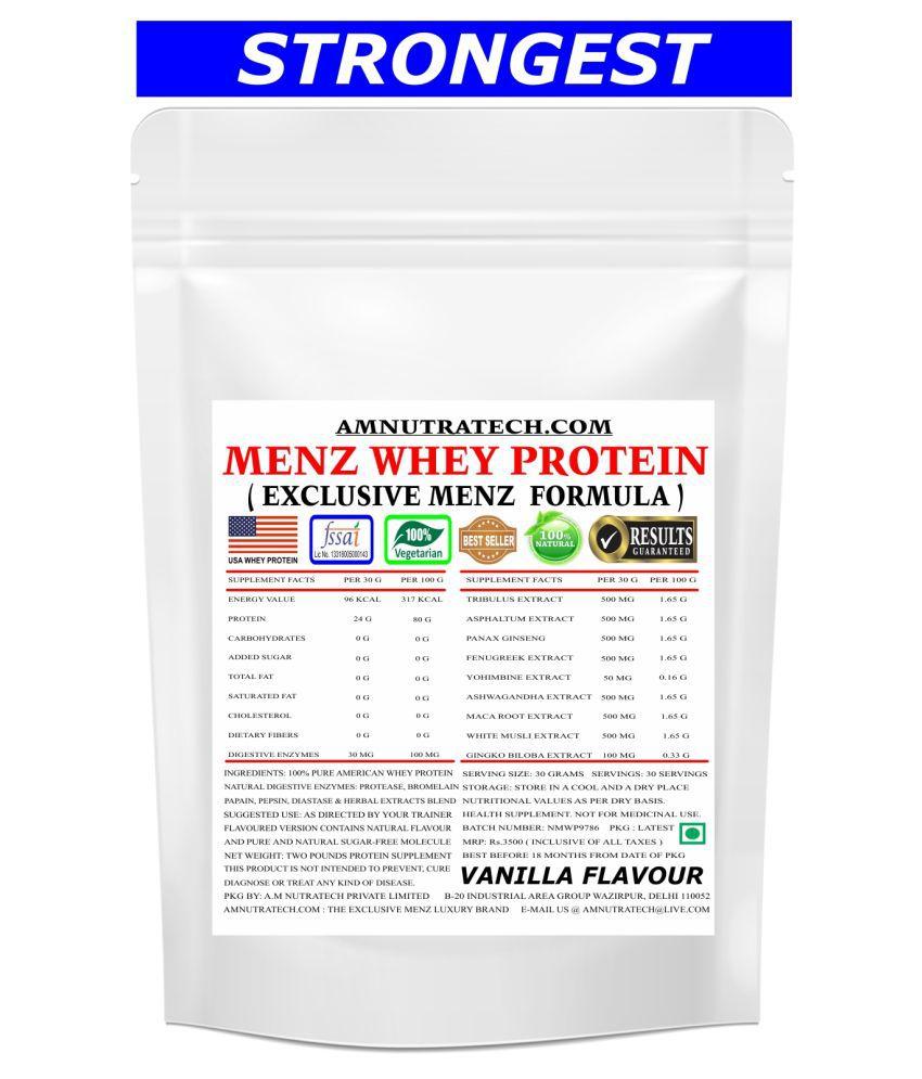 AM NUTRATECH Man Whey Protein ( Vanilla ) 2 lb