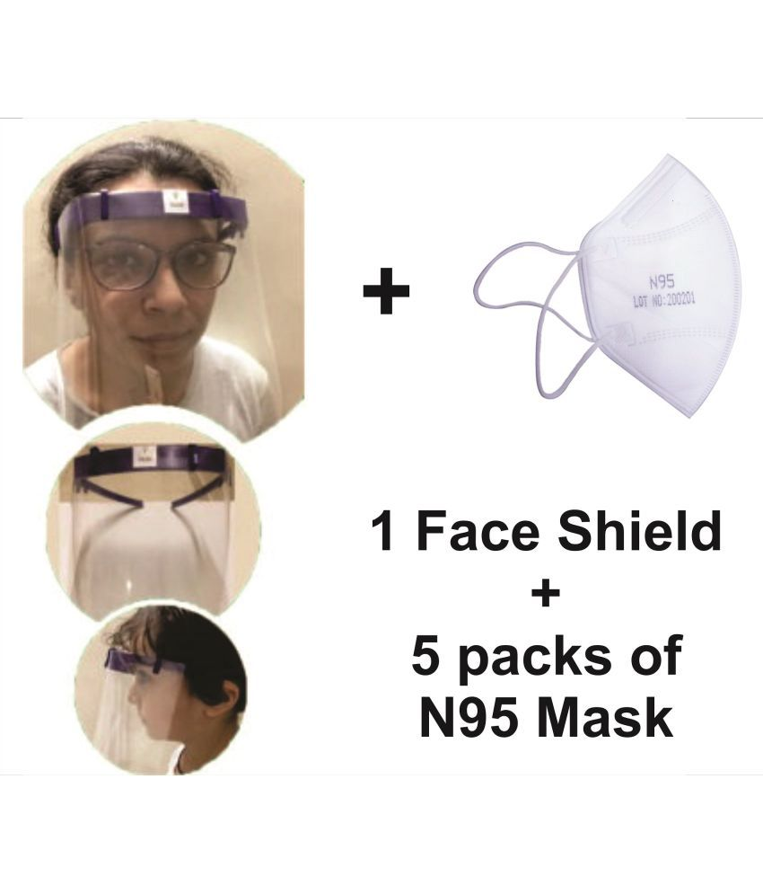 Iconic Face shield combo with respirator Staff M