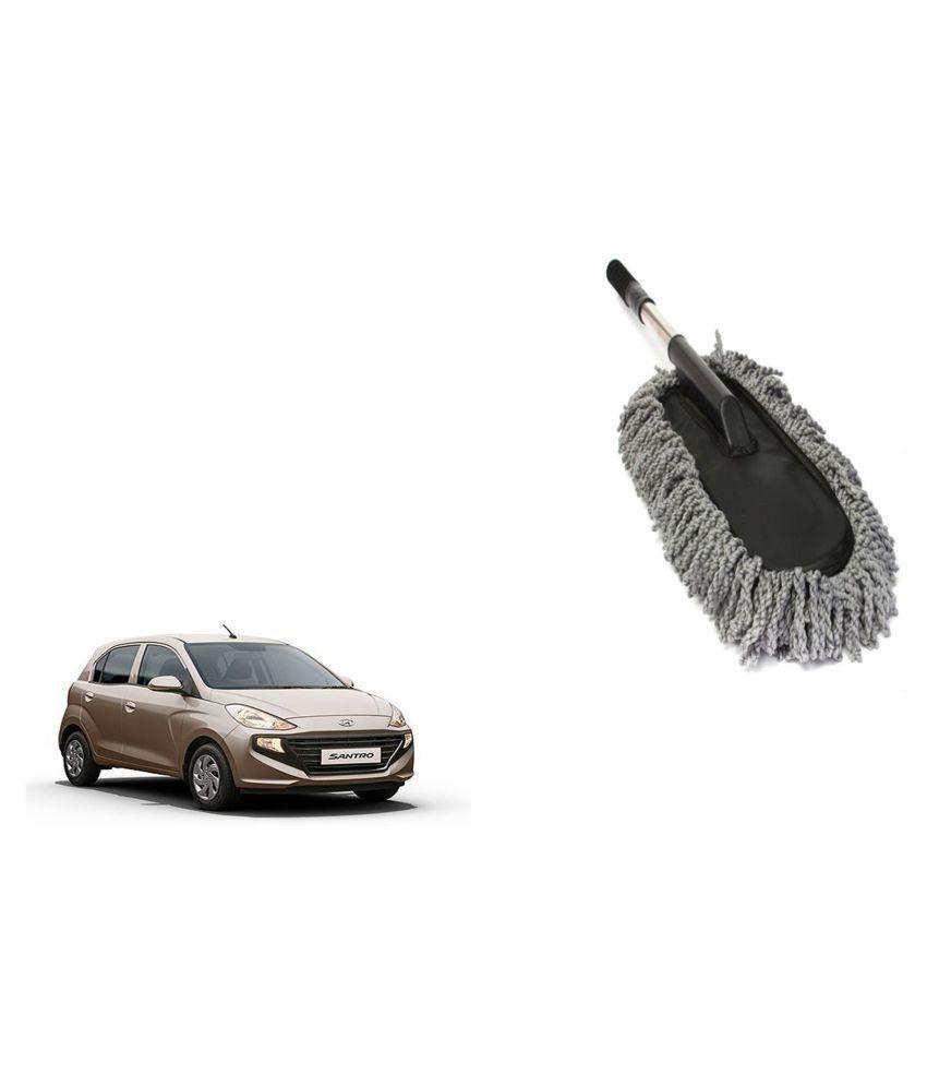 Madmex Microfiber  Car Cleaning Duster Brush Mop for Hyundai Santro Xing