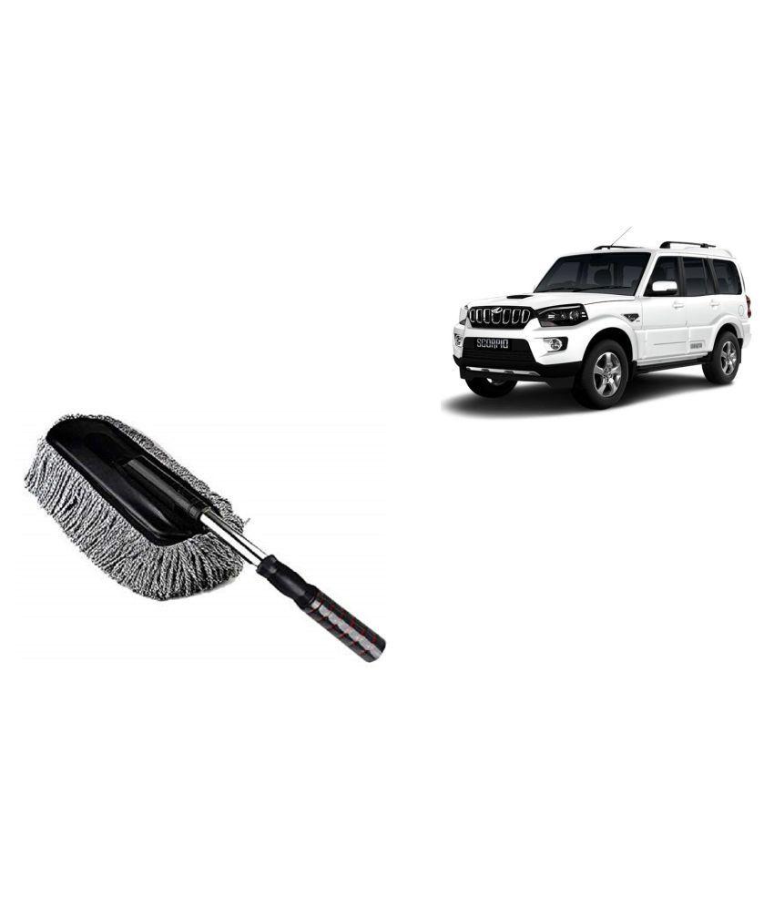 Madmex Microfiber  Car Cleaning Duster Brush Mop for Mahindra Scorpio