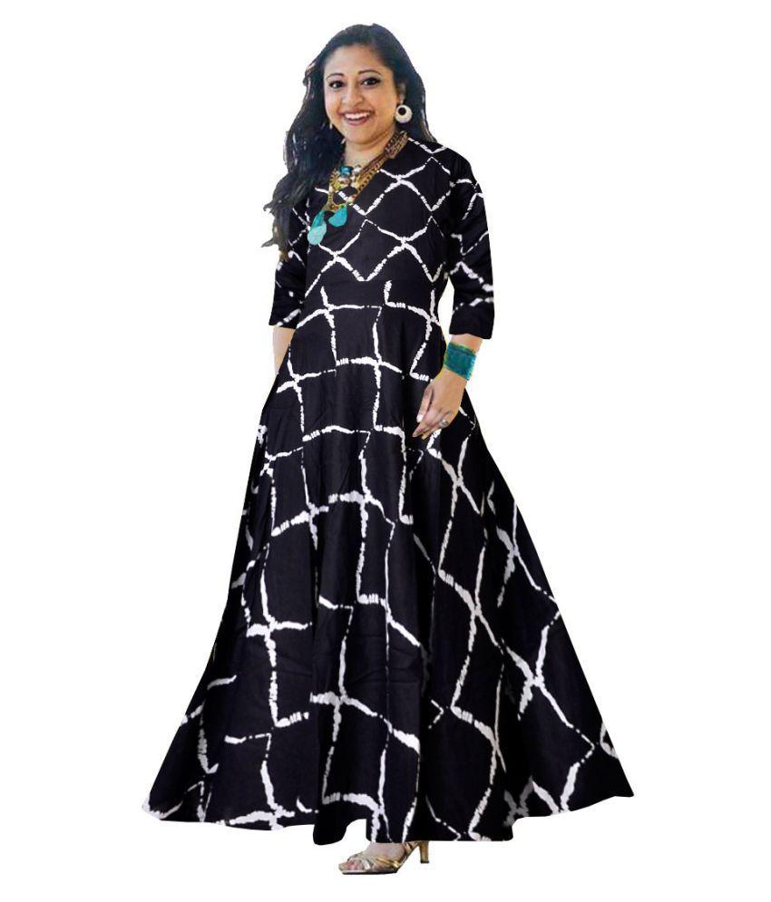 JWF Rayon Black Cut Out Dress