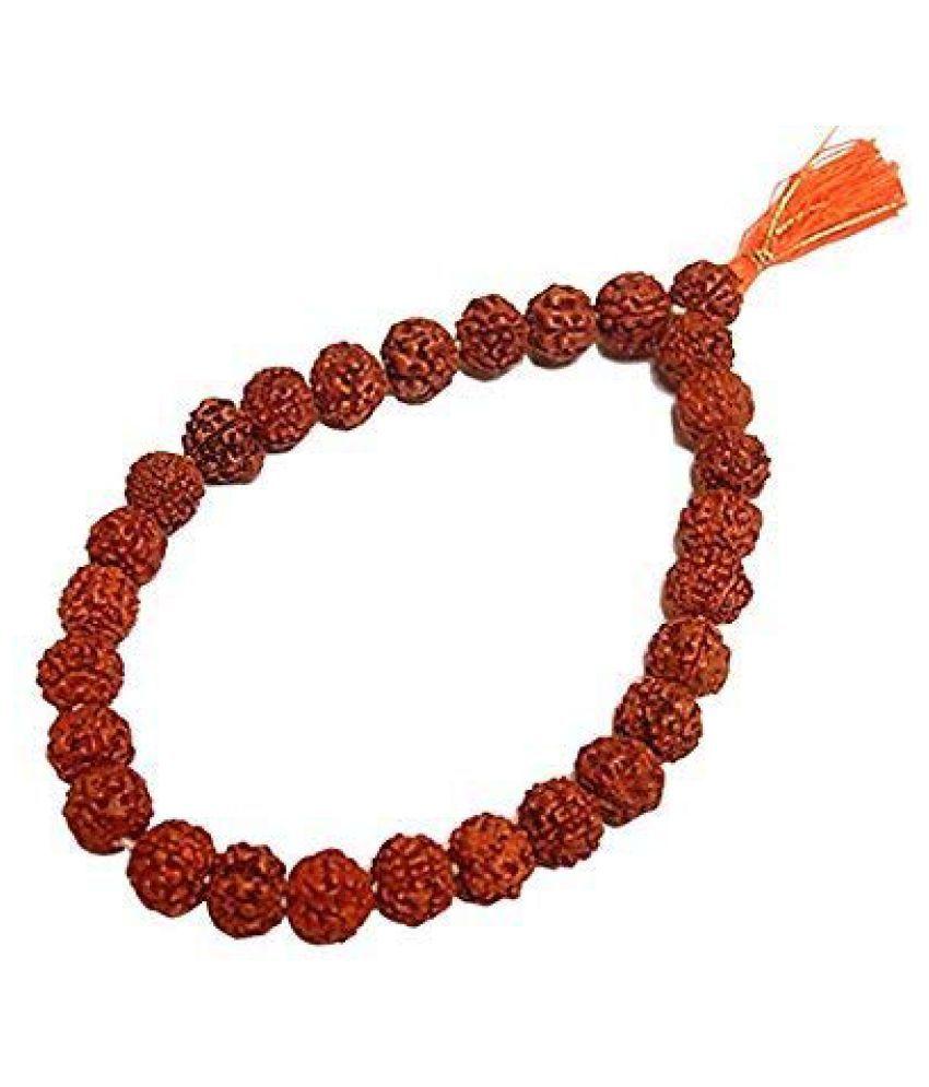 Rudraksha Bracelet Sumirani Original rudraksha beads / stylish rudraksha bracelet self Certified / Rudraksh Bracelet for Healing and Meditation