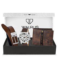 Walrus WWWBC-COMBO38 Leather Analog Men's Watch