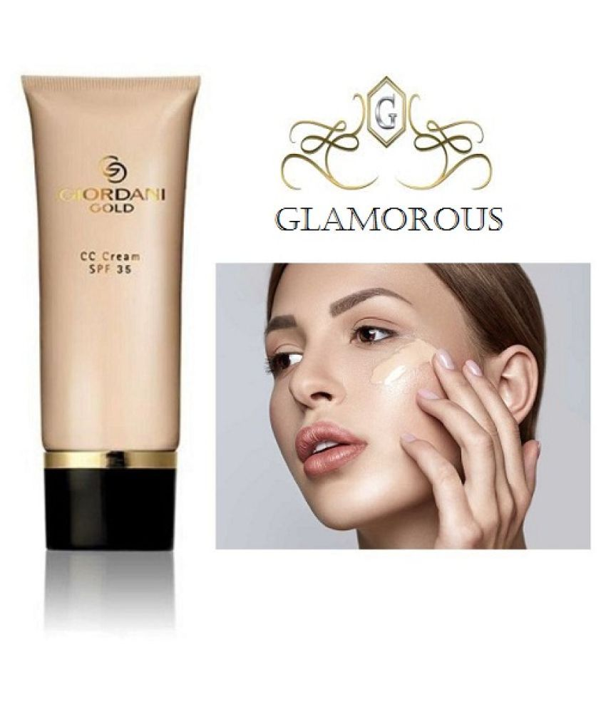 Glamorous GIORDANI GOLD CC Cream Liquid Foundation Medium SPF 35 40 g