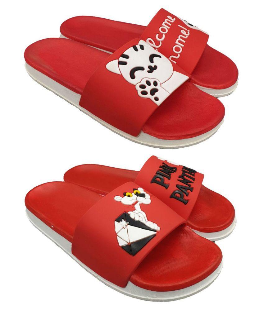 Pampy Angel Red Slides