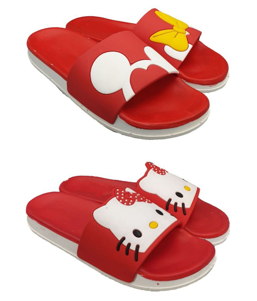Pampy Angel Red Slides