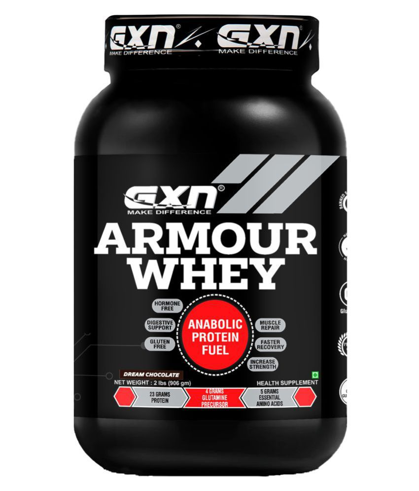 GXN Armour Whey Protein 2 lbs, Dream Chocolate 907 gm