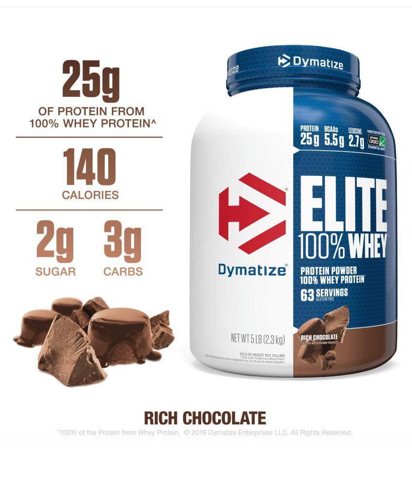 Dymatize Nutrition Dymatize Elite 100% Whey Protein 2.3 kg