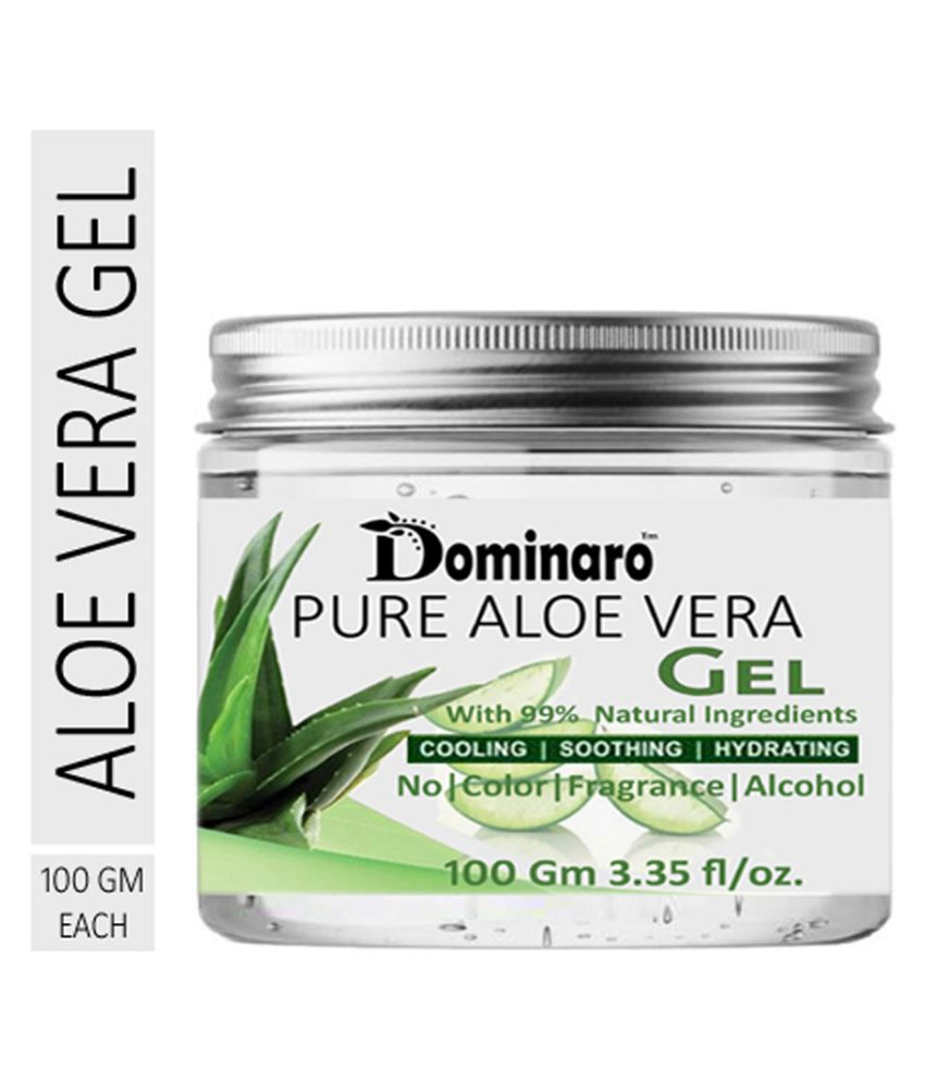 Dominaro Pure Aloe Vera Gel For Face Cleaning , - Skin Moisturizer 100 gm