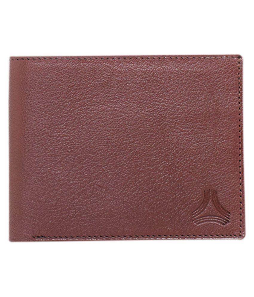 Arado Leather Tan Fashion Regular Wallet