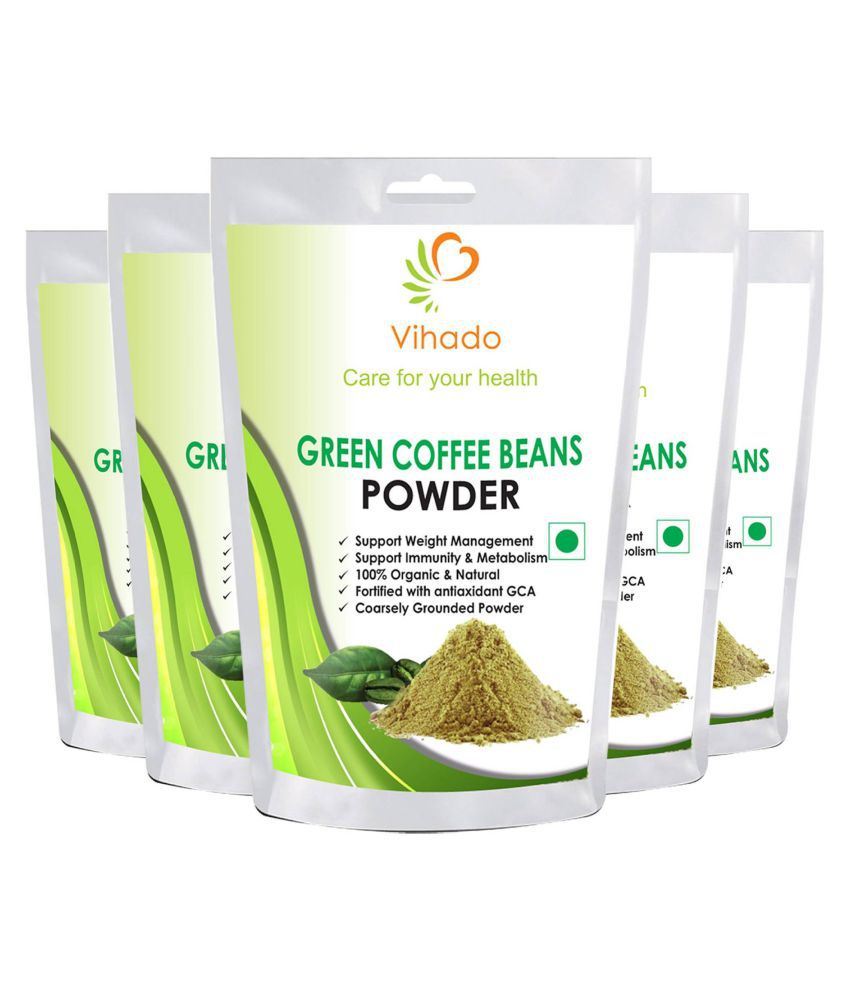 Vihado Organic Green Coffee beans Powder for weight loss ...