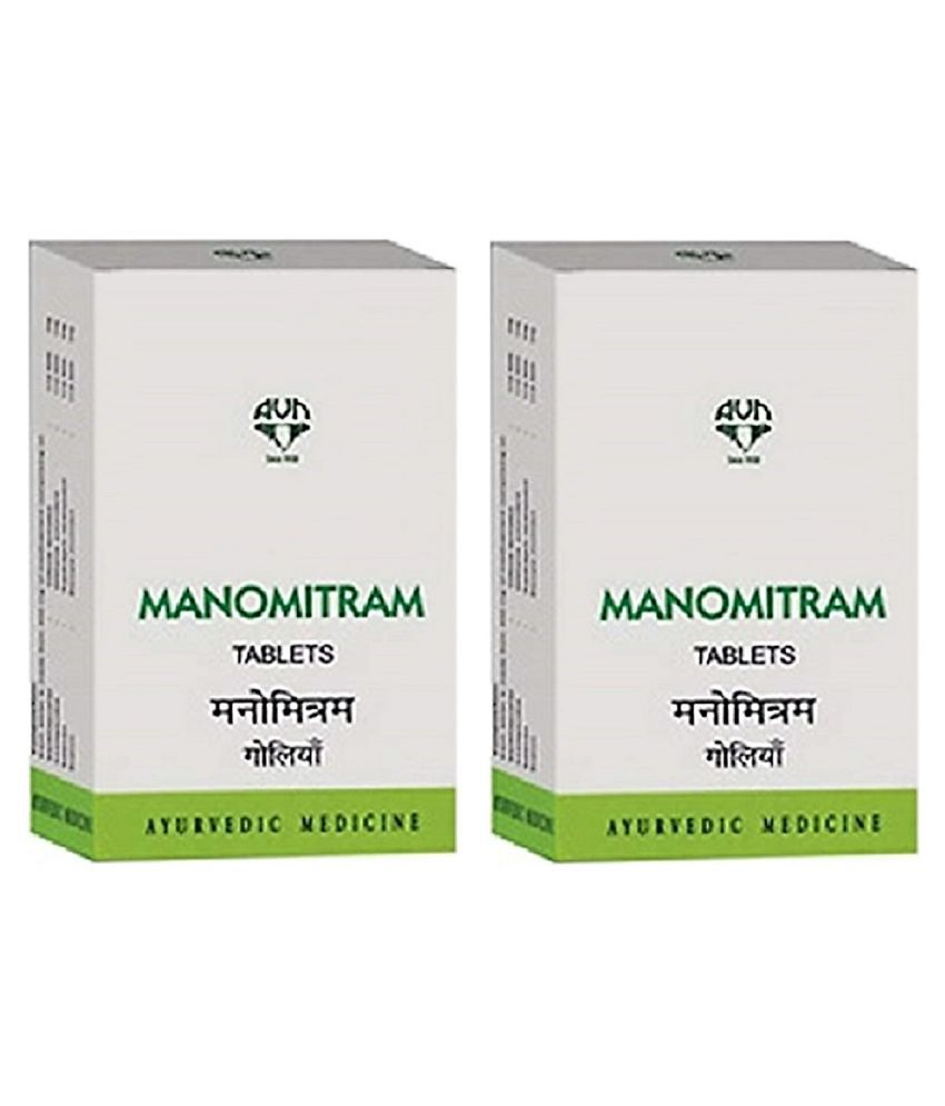 AVN Manomitram - Reduces Anxiety, Depression Tablet 180 no.s Pack Of 2