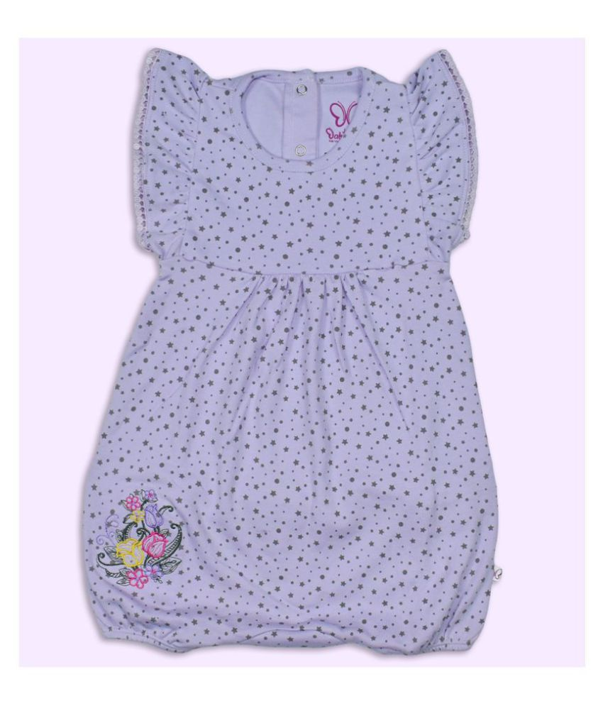 BabyBoon 100% Cotton Romper for New-Born and Babies