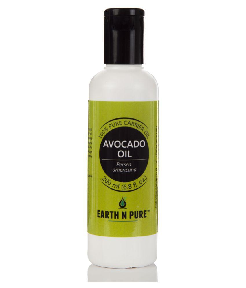 Earth N Pure Avocado Oil Carrier Oil 200 mL