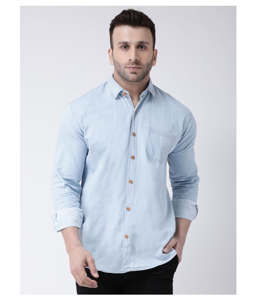 Hangup Denim Blue Shirt