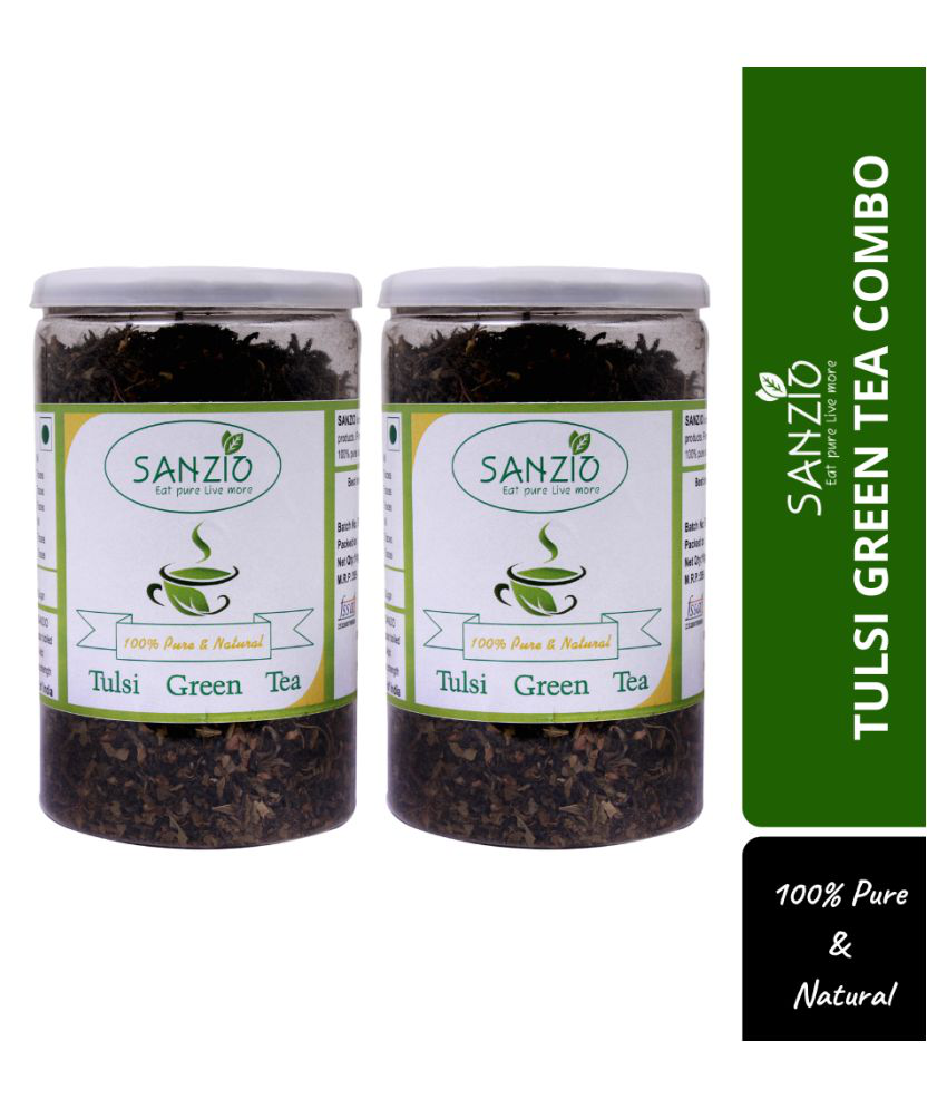 SANZIO Tulsi Tea Loose Leaf 200 gm