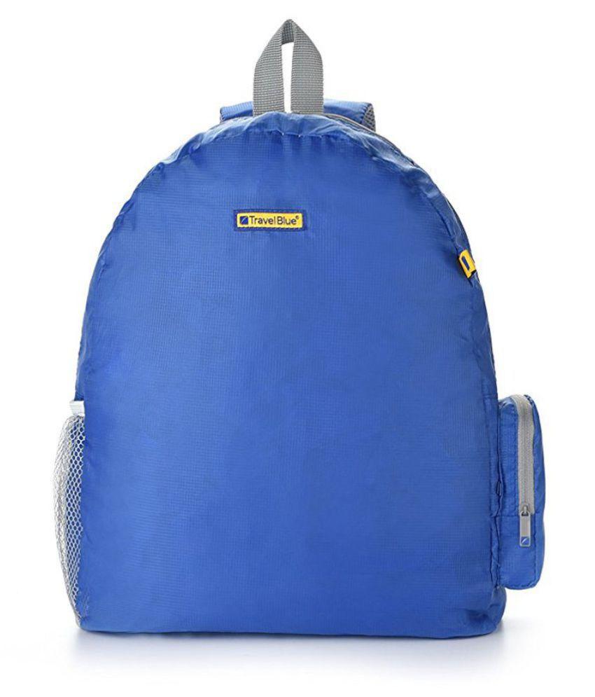 Travel Blue Blue Polyester College Bag