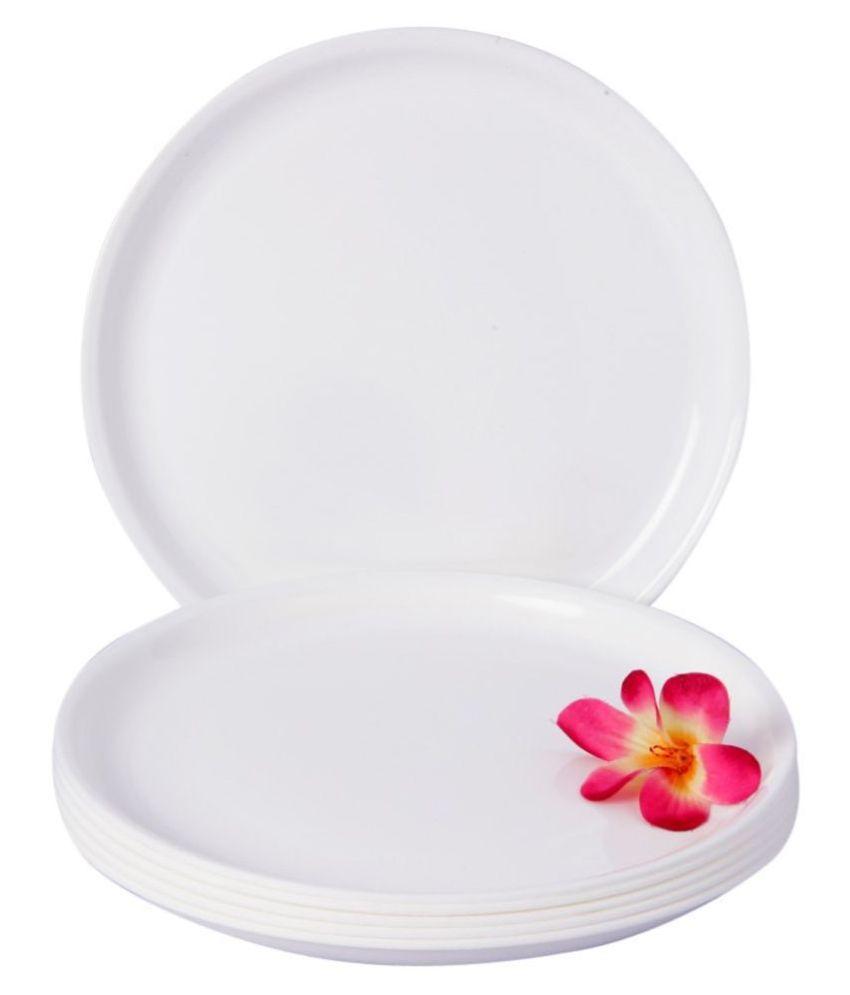 Kanha 6 Pcs Plastic Full Plate