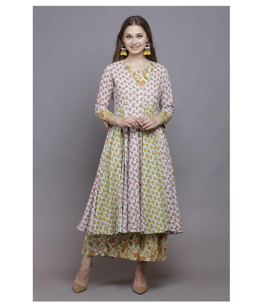 SUGAR STITCH Multi Color Cotton Jumpsuit