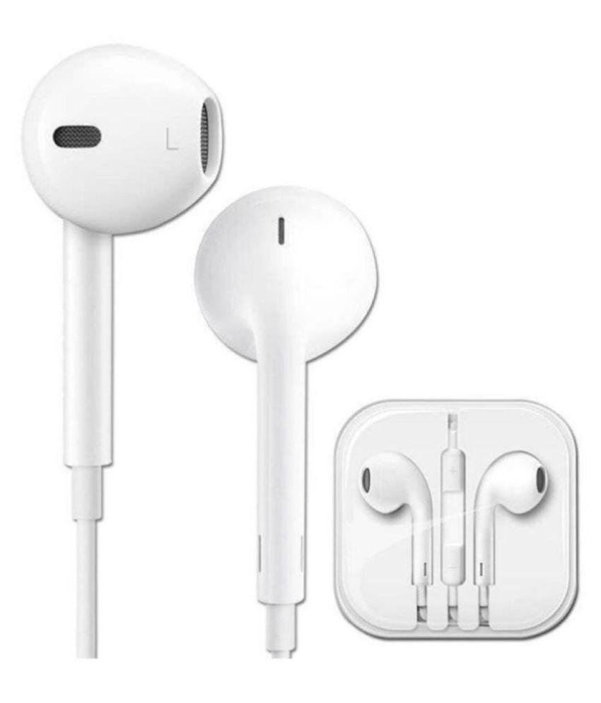 Sleek stereo wired headset In Ear wired With Mic Headphones/Earphones