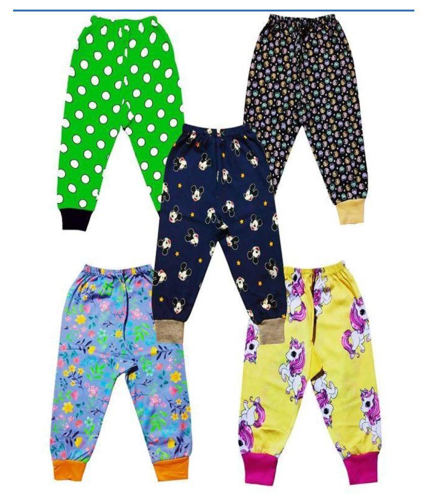 baby track pant multicolour set