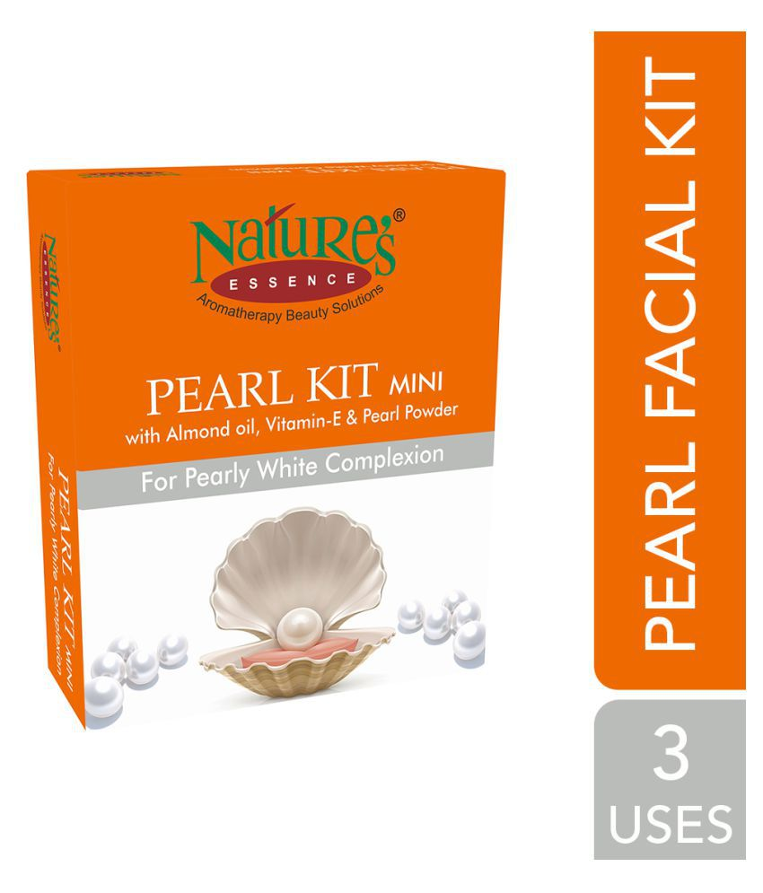 Natures Essence Mini Pearl Facial Kit 52 g For Pearly White Complexion