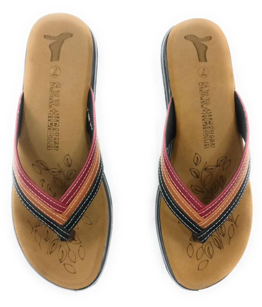 sbr Brown Slippers