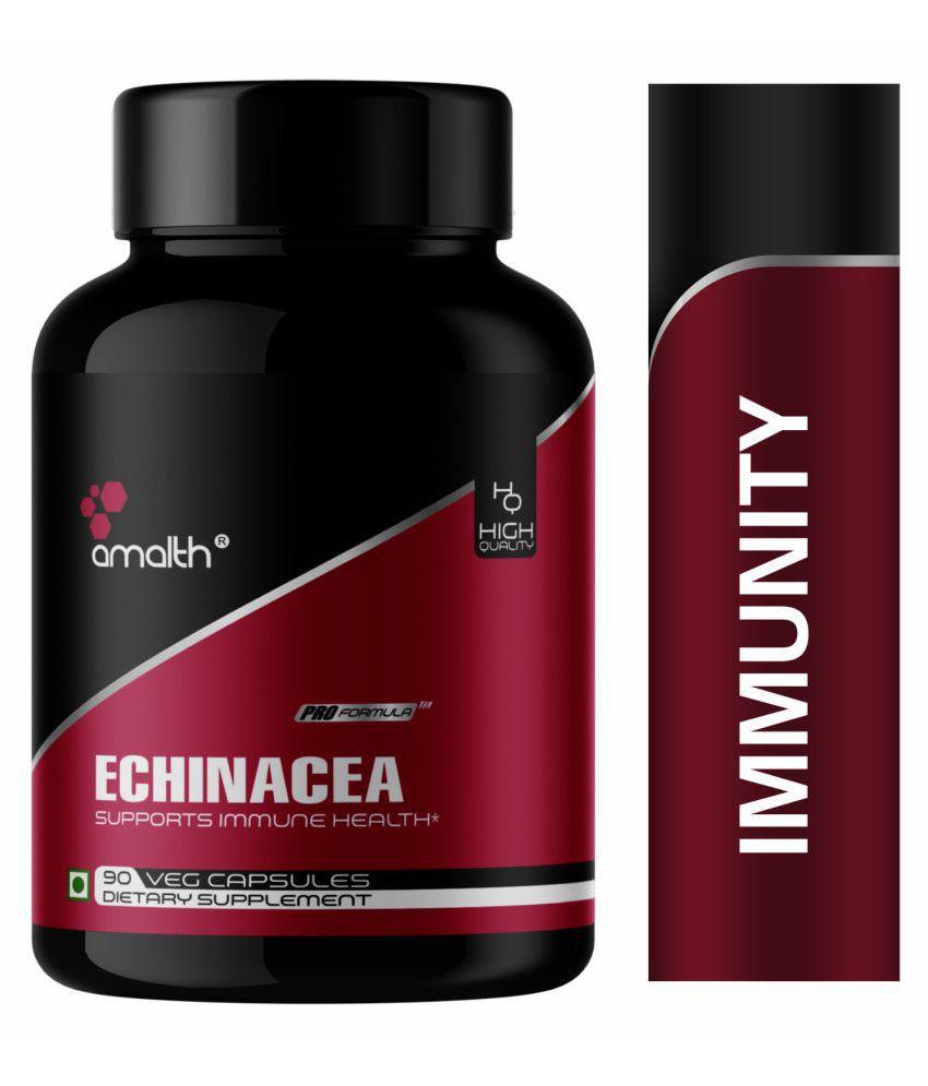 Amalth Echinacea Extract for Immunity Booster, immunity  Capsule 1000 mg