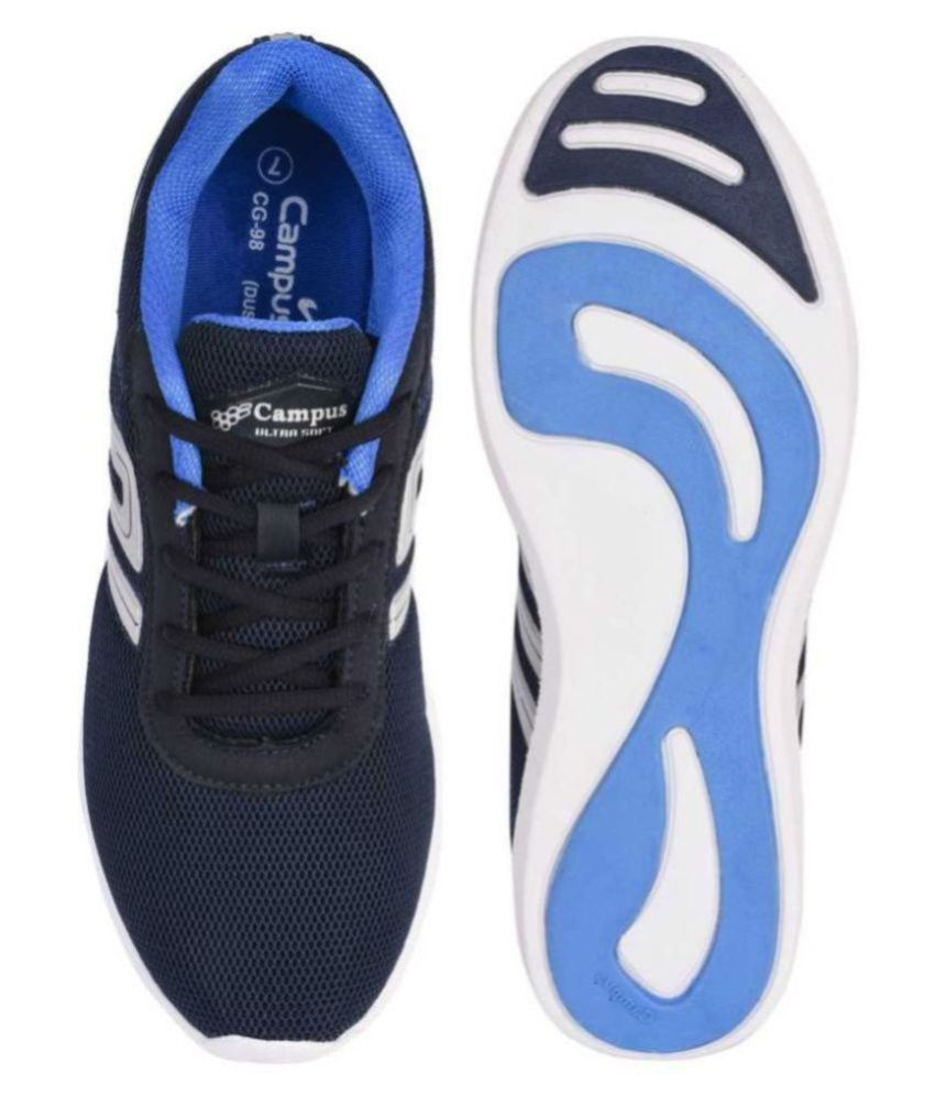 Campus DUSTER-2 Navy Running Shoes