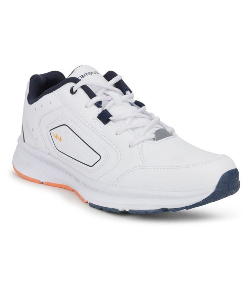 Campus TROPHY White Running Shoes