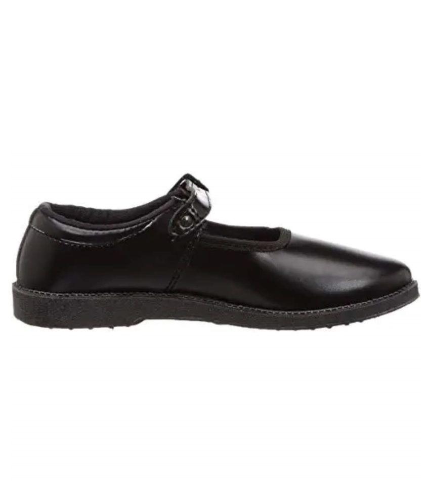Jindal Girls School Shoes Black