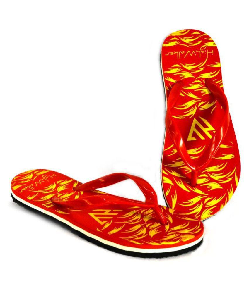 HighWalker Red Slippers