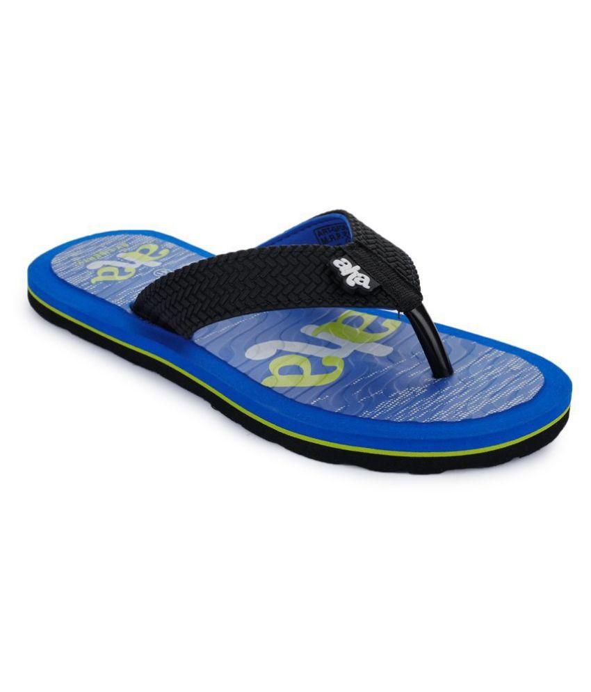 Liberty Blue Slide Flip flop