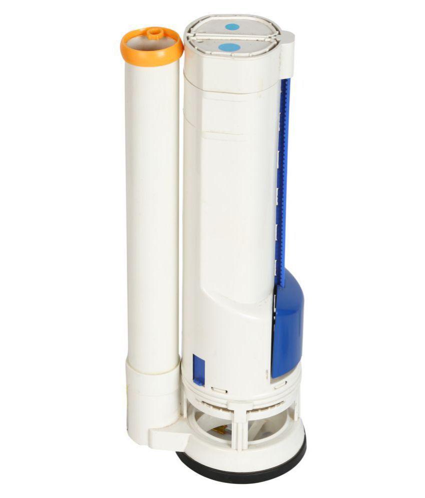 Elegant Casa 10 Inch-25 Cms Siphon,Dual Flush Valve for Single pc Toilet Dual Flush