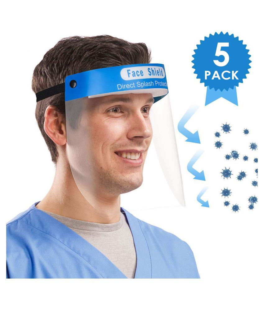 Endy Fendy (Pack of 5) Protective Face Shield