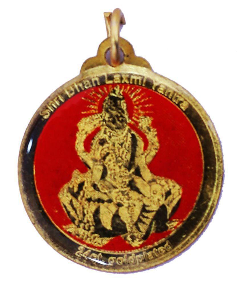 Dhan laxmi yantra locket for men/women for busniess,sucess,health&wealth