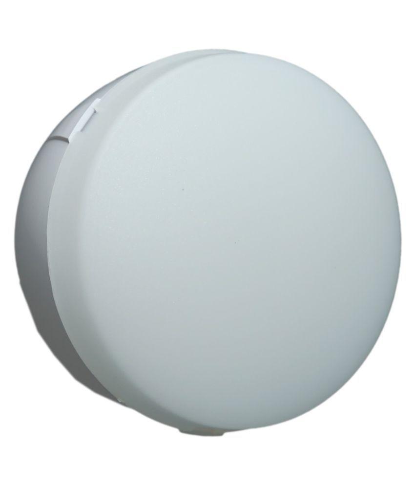 SaviLite 8W Round Ceiling Light 8.8 cms. - Pack of 5