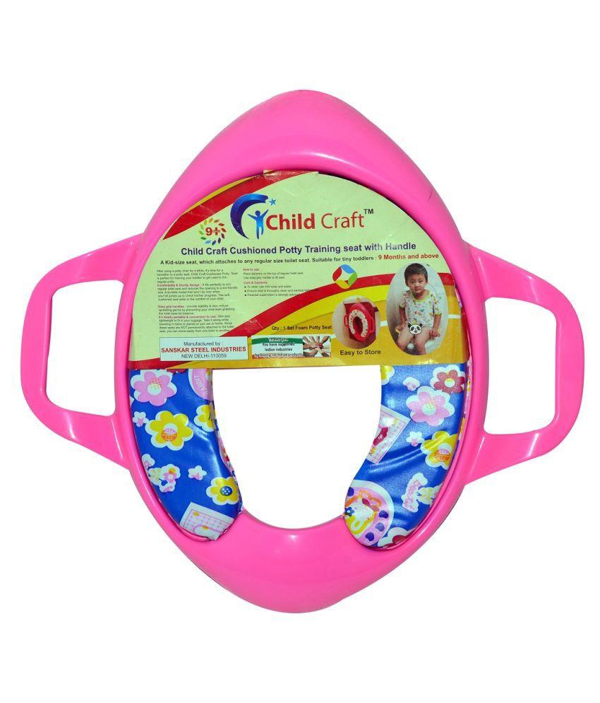 Childcraft Pink Plastic Potty Seat