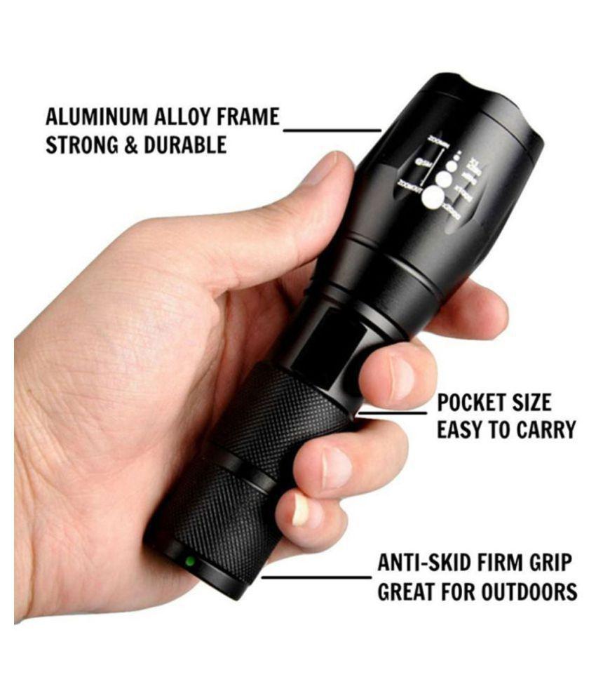 SS 22W Flashlight Torch 700mtr 5 ModeTorch - Pack of 1