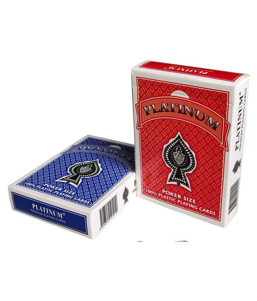China Professional Printing Casino Plastic Playing Card